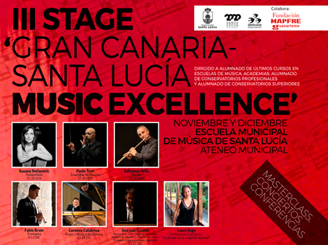 III Stage 'Gran Canaria Santa Lucía Music Excellence'